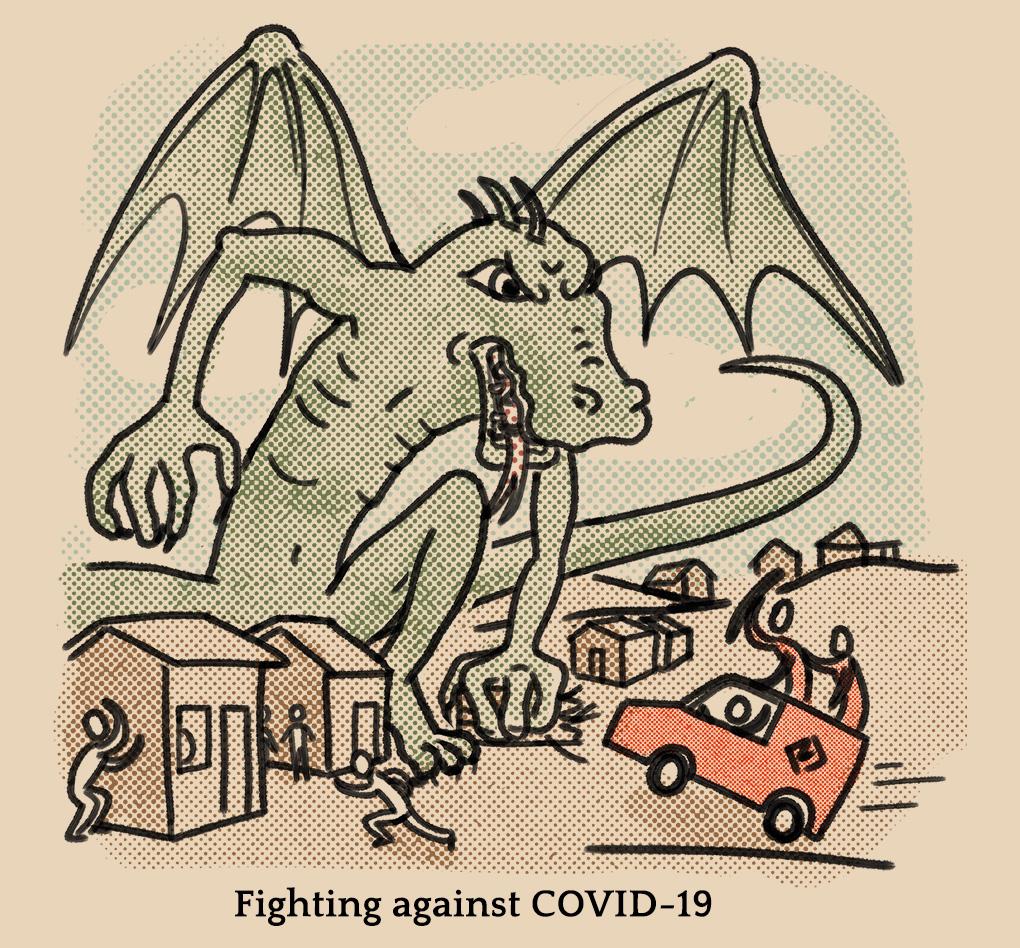 COVID Dragon